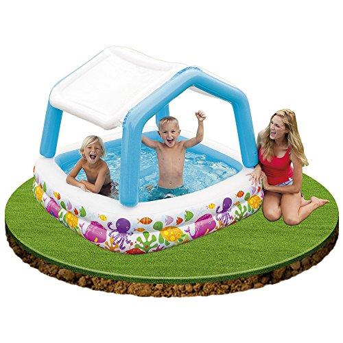 Intex piscina gonfiabile con parasole piscine - Amazon piscina bambini ...