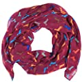 Dachshund Print Design Large Size All Seasons Soft Scarves for Women