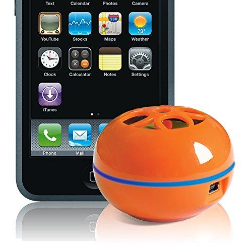 Tweakers Teeny Portable Speaker (Orange) (Tweakers Portable Mini Speakers compare prices)