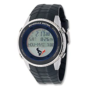 Mens NFL Houston Texans Schedule Watch by 14k co.
