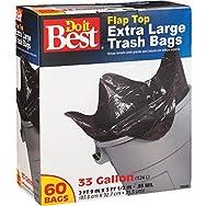 Presto Products 628263 Do it Best Extra Large Trash Bag-60CT 33GAL TRASH BAG