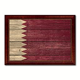 Qatar National Textured Flag Art Country Custom Picture Frame office Wall Home Decor Gift Ideas, 15\