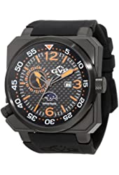 "GV2 by Gevril Men's 4512 XO ""Submarine"" Stainless Steel Watch"