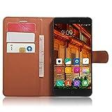 SMTR Elephone P9000 Wallet Tasche Hülle - Ledertasche im