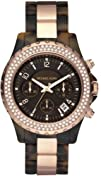 Michael Kors Womens MK5416 Madison Chronograph Tortoise