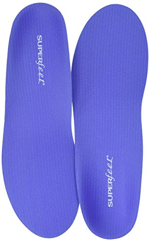 Superfeet Women's Comfort Shoe Insoles, Blueberry, Medium/6.5-8 M US (Orthotic Inserts Superfeet compare prices)