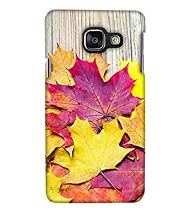 Print Haat Back Case for Samsung Galaxy A3 2016 (Multi-Color)
