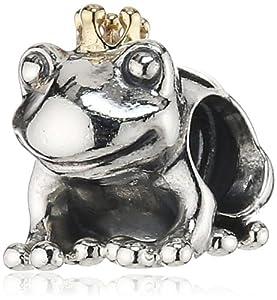 Pandora Damen-Charm 925 Sterling Silber Frosch 791118