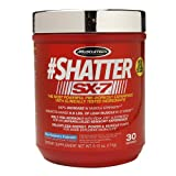 MuscleTech #Shatter SX-7, Blue Raspberry Explosion 6.12 oz (174 g)(pack of 4)