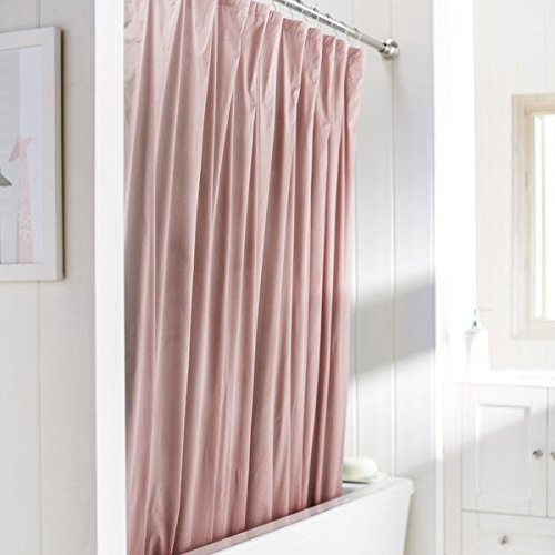 United Linens 10 Gauge HEAVY DUTY Shower Curtain Liner Neon Pink72x72 PEVA