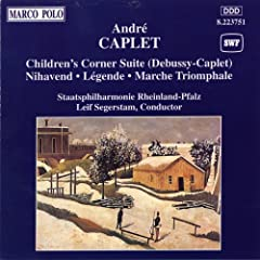 Children's Corner (orch. A. Caplet): The Snow is Dancing