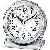 CITIZEN  ( シチズン ) 目覚まし 時計 サイレントミグR645 夜間自動点灯 8RE645-019