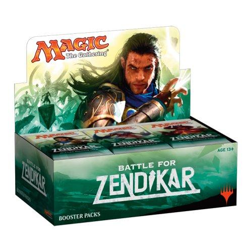 マジック:ザ・ギャザリング 戦乱のゼンディカー ブースターパック(英語版) 36パック入りBOX
