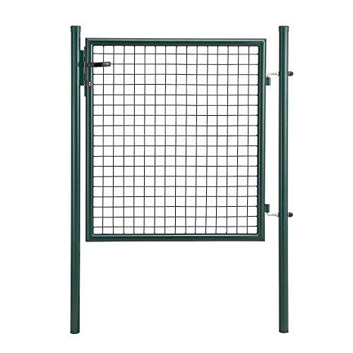 protec-Gartentor-verzinkt-150x106cm-grn-inklusive-Schloss-und-3-Schlsseln-Gartenpforte