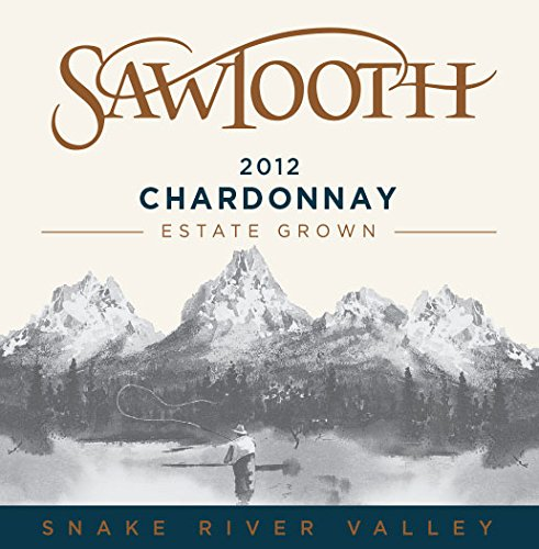 2012 Sawtooth Chardonnay, Snake River Valley, Idaho 750 Ml