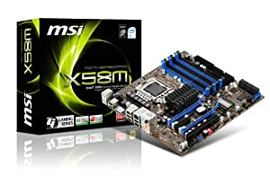 MSI X58M 1366 Intel X58 uATX Intel Motherboard