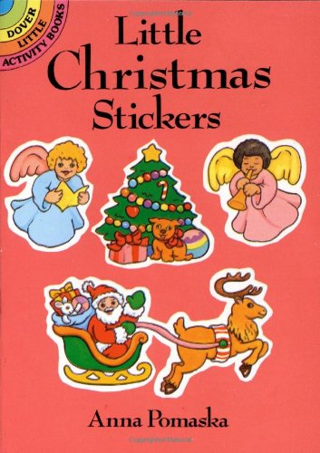 Little Christmas Stickers (Dover Little Activity Books Stickers)