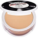 BENEFIT COSMETICS some kind-a gorgeous the foundation faker - Lite - sheer ivory beige 9.5 g net wt 0.34 oz MIRRORED compact with APPLICATOR/SPONGE