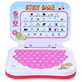 Shy Products Angry Bird Study Game Mini Learning Laptop For Toddlers (Red)-Battery Operated