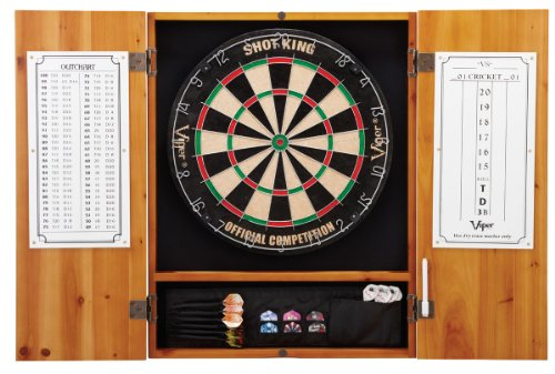 Lowest Prices! Viper Metropolitan Collection Bristle Dartboard Cabinet