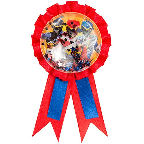 Power Rangers Dino Charge Confetti Pouch Award Ribbon - 1