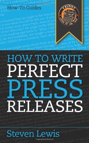 Writing a press release headline rules