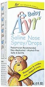 Ayr Baby Saline Spray/Drops