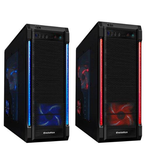 OCHW FX-6300 Gaming PC, Home PC, Desktop PC (AMD FX-6300 4.1GHz Six Core Bulldozer CPU, AMD NVIDIA GT 630 2GB Graphics Card, 1TB Hard Drive, 8GB DDR3 Memory, HDMI 1080p, USB 3.0) (No Operating System) PLUS FREE GAMES BUNDLE!