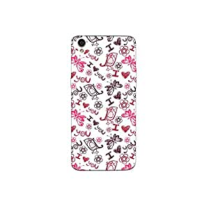 Design for Oppo F1 Plus nkt05 (87) Case by Mott2 -I love You - Cute Printed (Limited Time Offers,Please Check the Details Below)