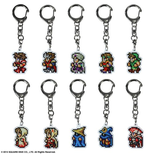 FINAL FANTASY ALL THE BRAVEST METAL KEYCHAIN 29種セット (初回限定生産)