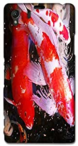 Timpax protective Armor Hard Bumper Back Case Cover. Multicolor printed on 3 Dimensional case with latest & finest graphic design art. Compatible with Sony L39H - Sony 39 Design No : TDZ-27048