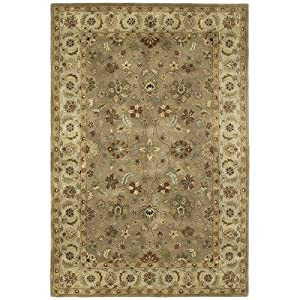 Amazon.com: Mystical Garden Queens Garden Sable Oriental Rug Size ...