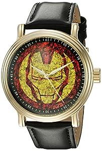 Marvel Men's W002532 The Punisher Analog Display Analog Quartz Black Watch