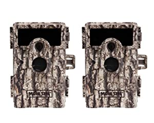 (2) MOULTRIE Game Spy M-900Ai No Glow Infrared Digital Trail Game Cameras | 10MP by Moultrie