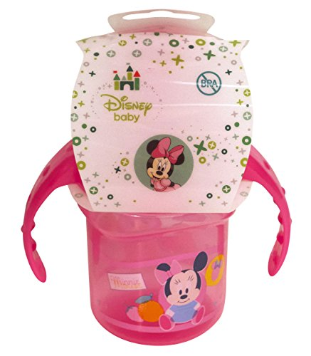 Disney Minnie Mouse Sippy Cup with Handles - 1
