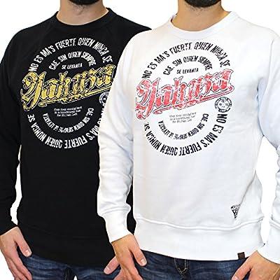 Yakuza Sweatshirt PB 521 HISPANIC in weiß und schwarz von M-5XL