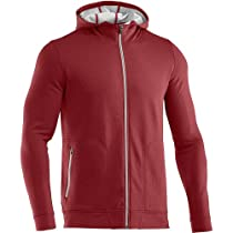 Under Armour Coldgear Infrared Tech Fleece Front Zip Jacket, Cordova / Cordova, Large
