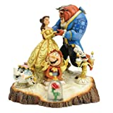 Enesco Disney Traditions by Jim Shore Beauty and the Beast Figurine, 7.75-Inch