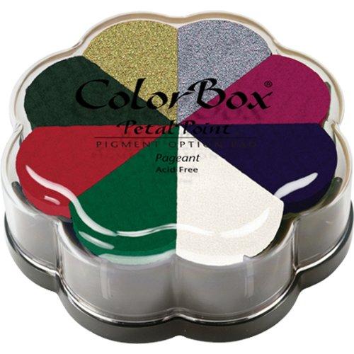 CLEARSNAP Colorbox Pigment Petal Point Option Pad, Pageant, 8 Colors Per Pad (Color: Pageant)