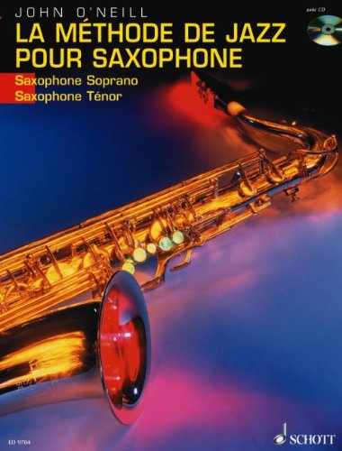 La Methode de Jazz pour Saxophone: French Language Book/CD
