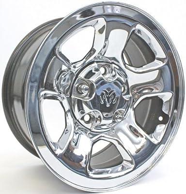 17 inch 2002 2003 2004 2005 2006 2007 2008 2009 Dodge Ram 1500 Pickup Chrome Factory Original Oem Center Cap 52106536 5HC16TRMAC 560-02162B 2162 2162B