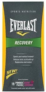 Everlast Recovery, Berry Lemonade, Powder Packs, 18-Count