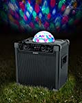 ION Audio Party Rocker Plus | Rechargeable Speaker with Spinning Party Lights & Karaoke Effects (50W) by Ion Audio - MI