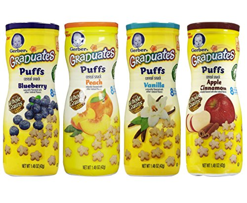 Gerber Graduates Puffs Bundle of 4 - 1