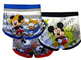 Mickey Mouse Little Boys' Toddler Club Friends 3-Pack Briefs - colors as shown, 2t - 3t