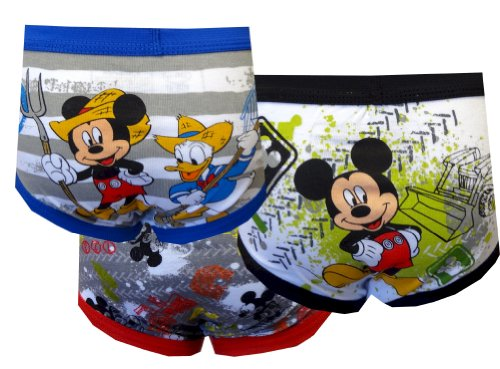 Mickey Mouse Clubhouse Mickey 3 Pack Toddler Boys Briefs For Boys (2T-3T) back-489339