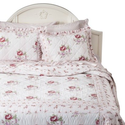Shabby Chic Pink Bedding 173955 back