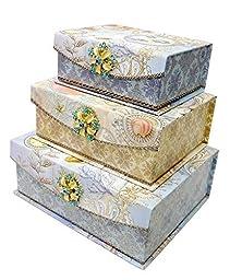 Punch Studio Seascape Flap Trinket Nesting Boxes by Punch Studios