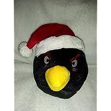 Angry Birds CHRISTMAS 5 Inch Mini Plush Figure Black Bird