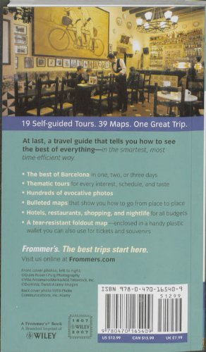 Frommer's Barcelona Day by Day [With Foldout Map of Barcelona & Catalonia] (Frommer's Day by Day - Pocket)